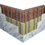 Вентилируемые фасады для безупречной отделки зданий и домов.