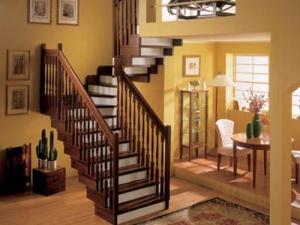 Виды лестниц на второй этаж2