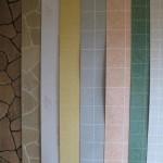 Влагостойкие листовые панели для стен.