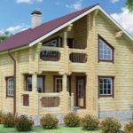Дачные дома из бруса — простота и комфорт.