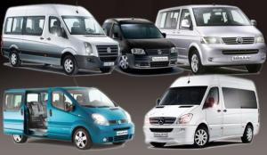 Заказ и аренда транспорта с водителями