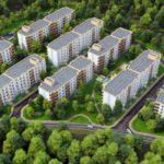 Современные и недорогие квартиры в Марусино, «Заречный» ЖК.