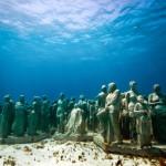 Парк подводных скульптур — такого Вы еще не видели.