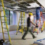 Заказ ремонтных работ в строительной компании.