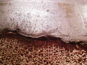 Стяжка пола с керамзитом
