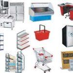 Торговое, складское, технологическое оборудование.