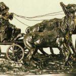 Создание произведений из металла путем художественного литья.