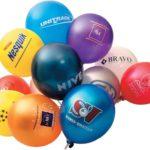 Воздушный шарик как способ рекламы.