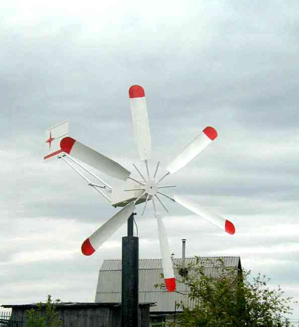 Декоративный ветряки своими руками