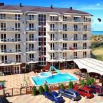Современные отели в Витязево.