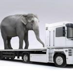 Особенности перевозки негабаритных грузов.
