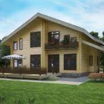 Строим из профилированного бруса: выбор проекта дома.