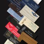 Основные особенности изготовления визиток.