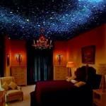 История и особенности натяжных потолков, возникновение эффекта «звездное небо».