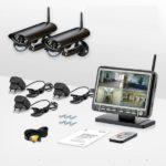 Особенности, преимущества беспроводного комплекта видеонаблюдения.