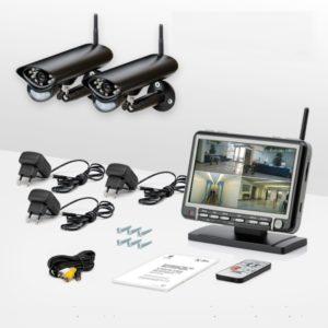 комплект оборудования видеонаблюдения