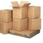 Коробки для транспортировки вещей.