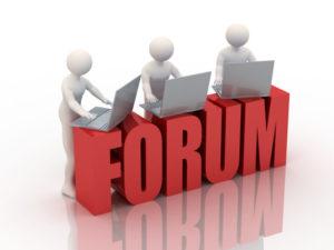 на бизнес-форуме