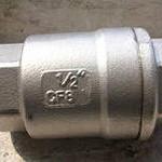 Область применения, монтаж обратного клапана из нержавеющей стали.