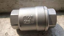 обратный клапан из нержавеющей стали