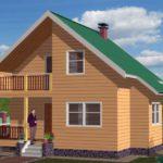 Дельные советы по строительству домов из бруса.