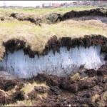 Многолетнее промерзание земной коры.