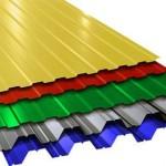 Профнастил — универсальный строительный материал.