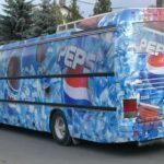 Особенности и преимущества рекламы на транспорте.