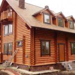 Красота и изящество деревянных домов.