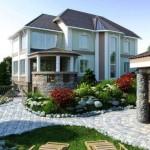 Строительство частных домов и коттеджей под ключ.