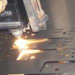 Изготовление металлических заготовок с помощью лазера.