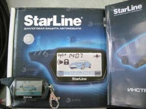 установка автосигнализации starline