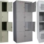 Металлические шкафы для хранения личных вещей покупателей, их особенности и преимущества.
