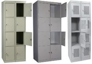 шкафы для хранения личных вещей покупателей