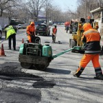 Новый подход к ремонту дорожного покрытия.