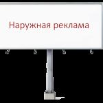 Наружная реклама: виды и средства печати