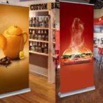 Мобильные стенды Roll Up – эффективная реклама