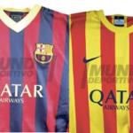 Фанаты, форма Барселоны тут