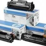 Расходные материалы для лазерных принтеров HP