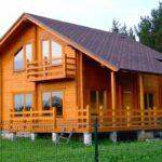 Достоинства домов из бруса